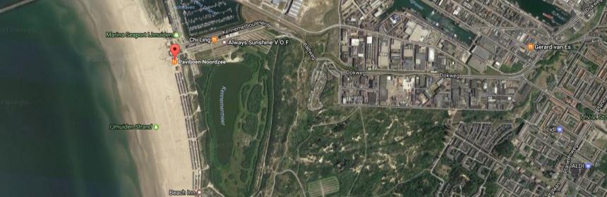 map ijmuiden